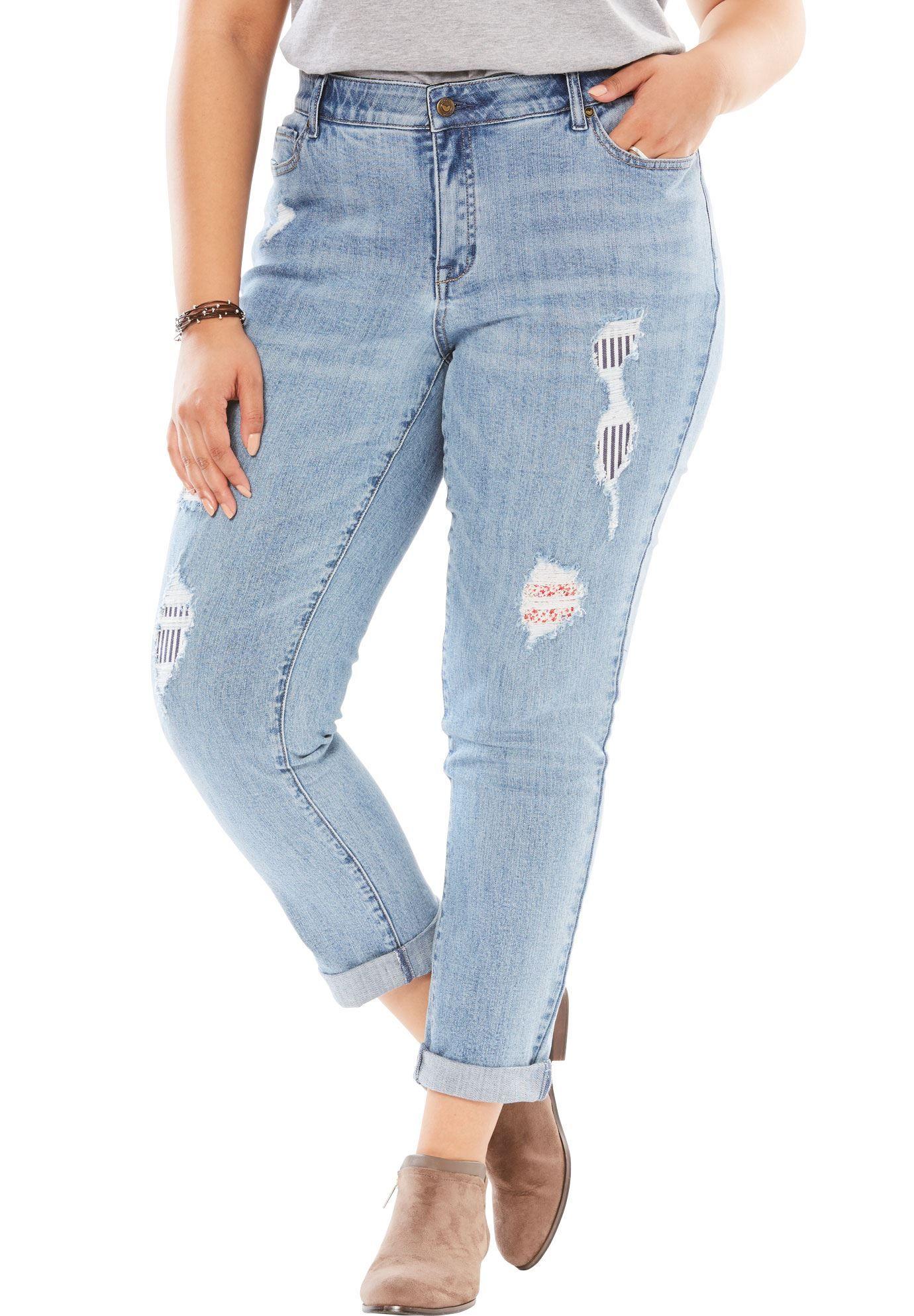 aafcb398807 No Gap Girlfriend Jean - Women s Plus Size Clothing