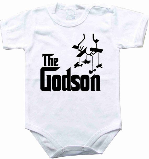 the godson  BABY VEST BOY//GIRL BODYSUIT COMICAL