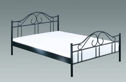 Romantisches Doppelbett Bettgestell Metallbett Einzelbett Bett
