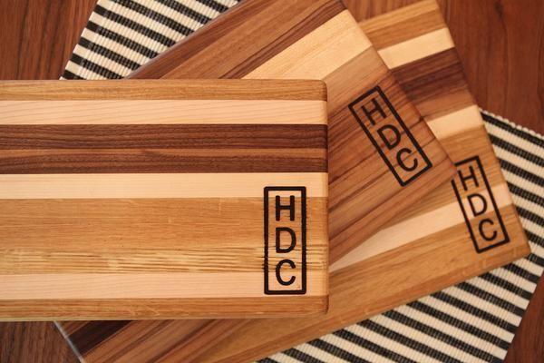 Hdc Striped Cutting Board Cuttings Board And White Oak