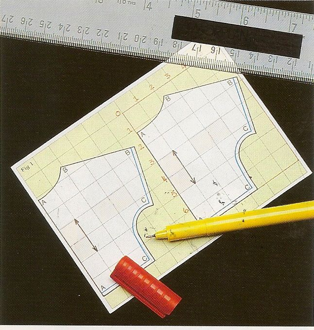 Patronaje básico: la escala de patrones | Costura,patrones y otros ...