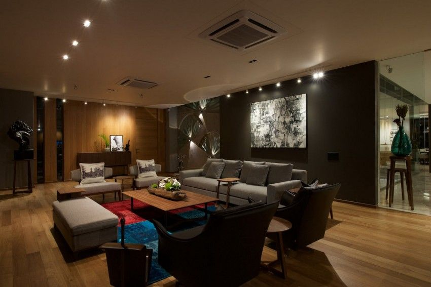 In and Out Living by S A K Designs Living rooms, Interiors and