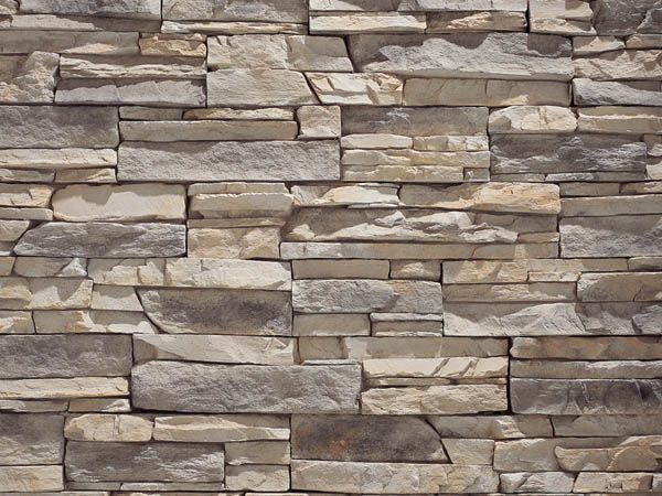 Love Stacked Stone In The Home