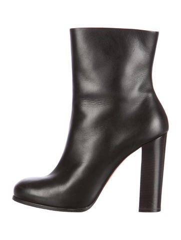 buy cheap Cheapest Céline Patent Leather Round-Toe Booties cheap collections sale amazing price T7r8p3usJ5