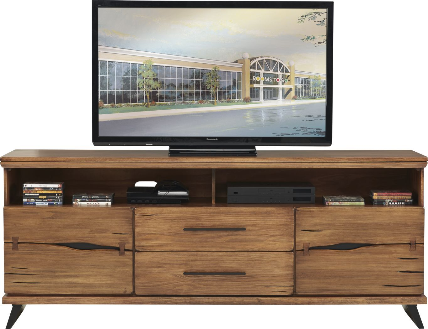 Dana Point Brown 80 In Console In 2021 Console Furniture Tv Stand Console Flat Screen Tv Stand 80 inch tv stand