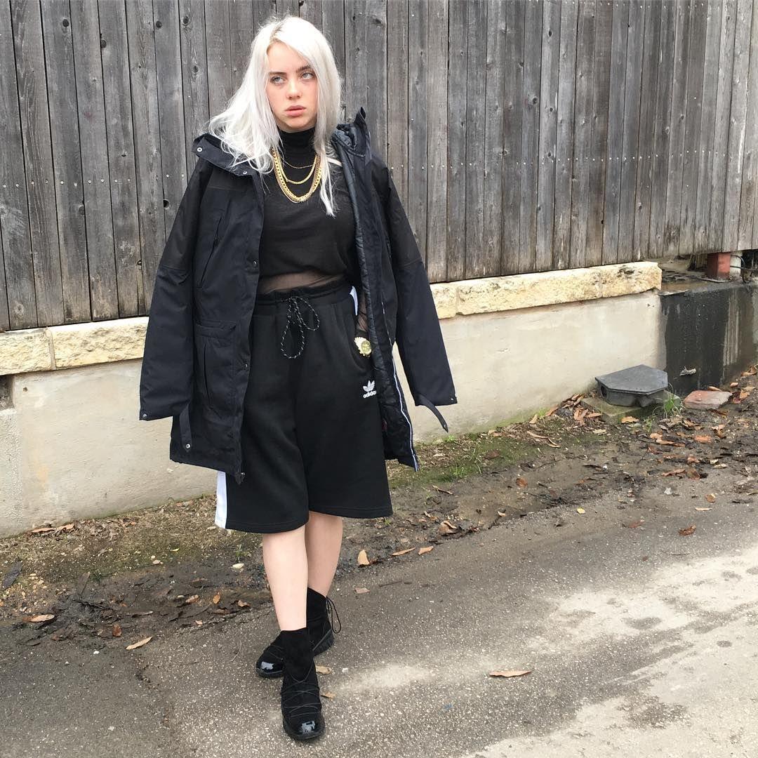 Instagram Post By Billie Eilish Mar 21 2017 At 3 53am Utc Billie Eilish Billie Fashion