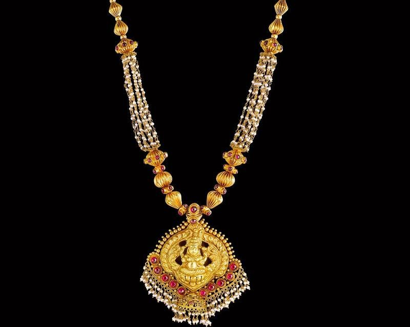 Latest Indian Gold and Diamond Jewellery Designs: Designer gold ...