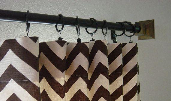 Pair of 50 x 108 inch Designer Custom Drapes by SewPanache on Etsy