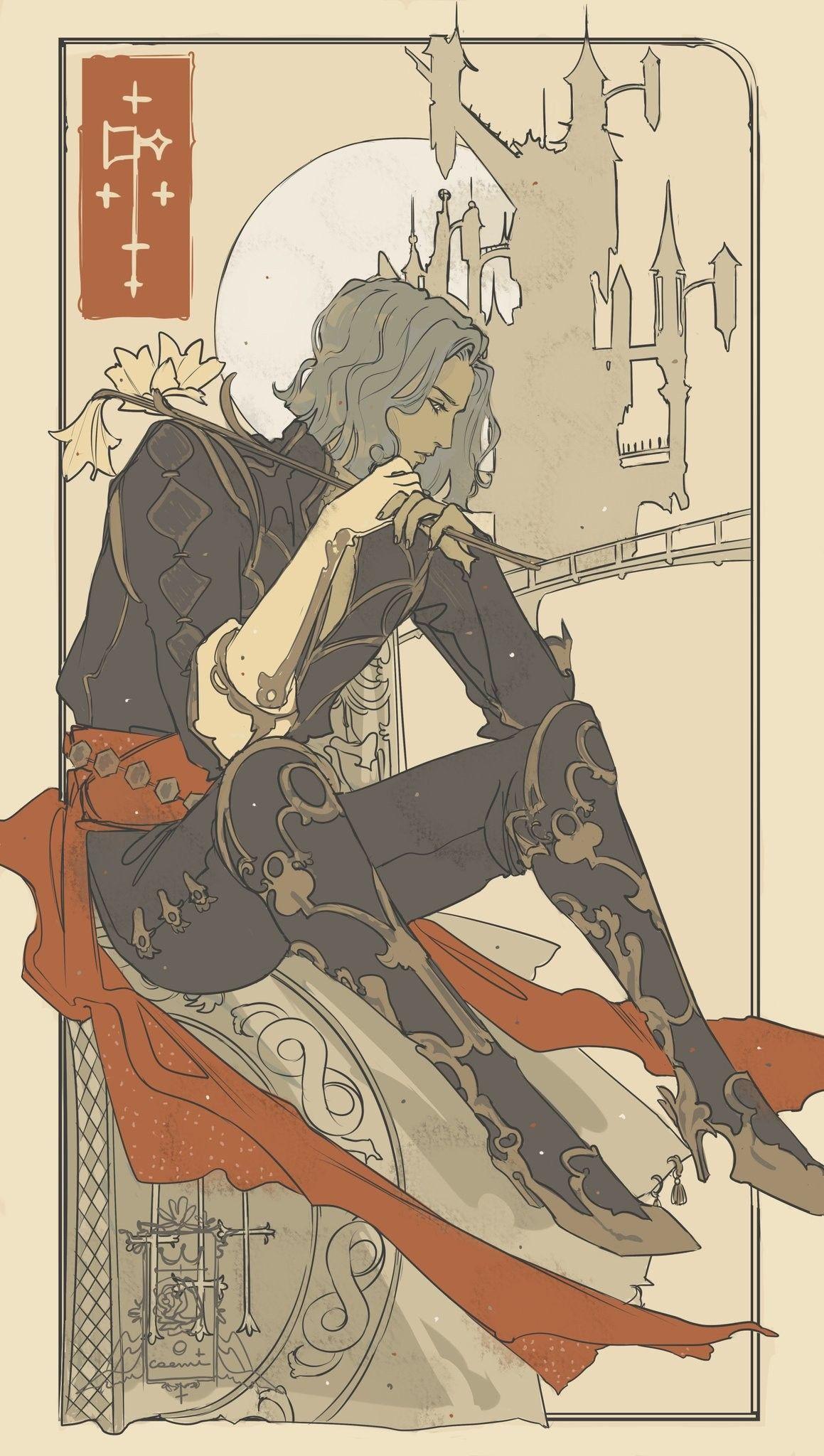 FanartCrossover(FGO+Castlevania) by YitJulia Anime, Fan