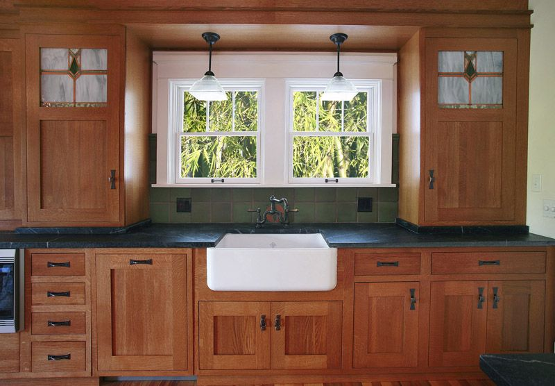 Mission Style Kitchen Cabinets Charming 17 Craftsman Style Kitchen