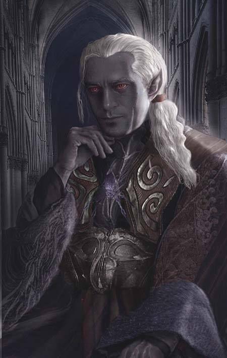 Pin by Tom Hocker on NPC Portraits | Elves fantasy, Dark ...