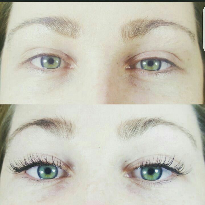 Gorgeous Before And After Using Semi Permanent Individual Eyelash