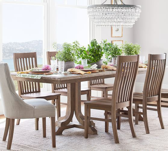 Trieste Chair Rustic Mahogany At Pottery Barn In 2019