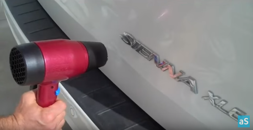 Lifehack How to Fix a Small Car Dent Using Cheap