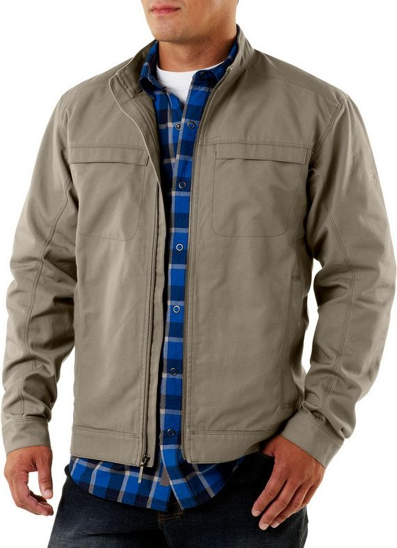 Casual jackets are great choices for men for everyday outings, they can be denim, short or long jackets with different materials and colors to choose from.