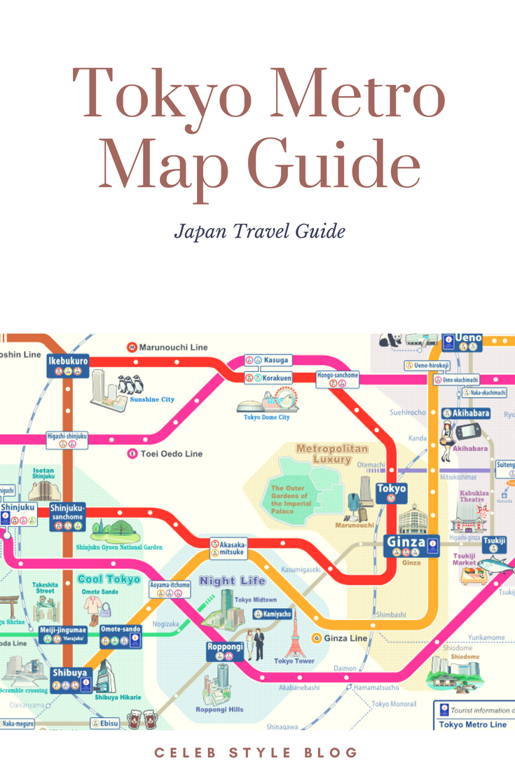 Aoyama Itchome On Subway Map.Tokyo Metro Map Guide The Cutshaws Go To Japan Tokyo Japan