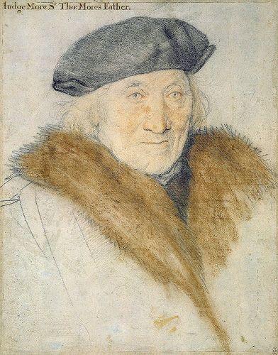 Hans Holbein Dj Sir John More Portrait Dessin Dessin Et