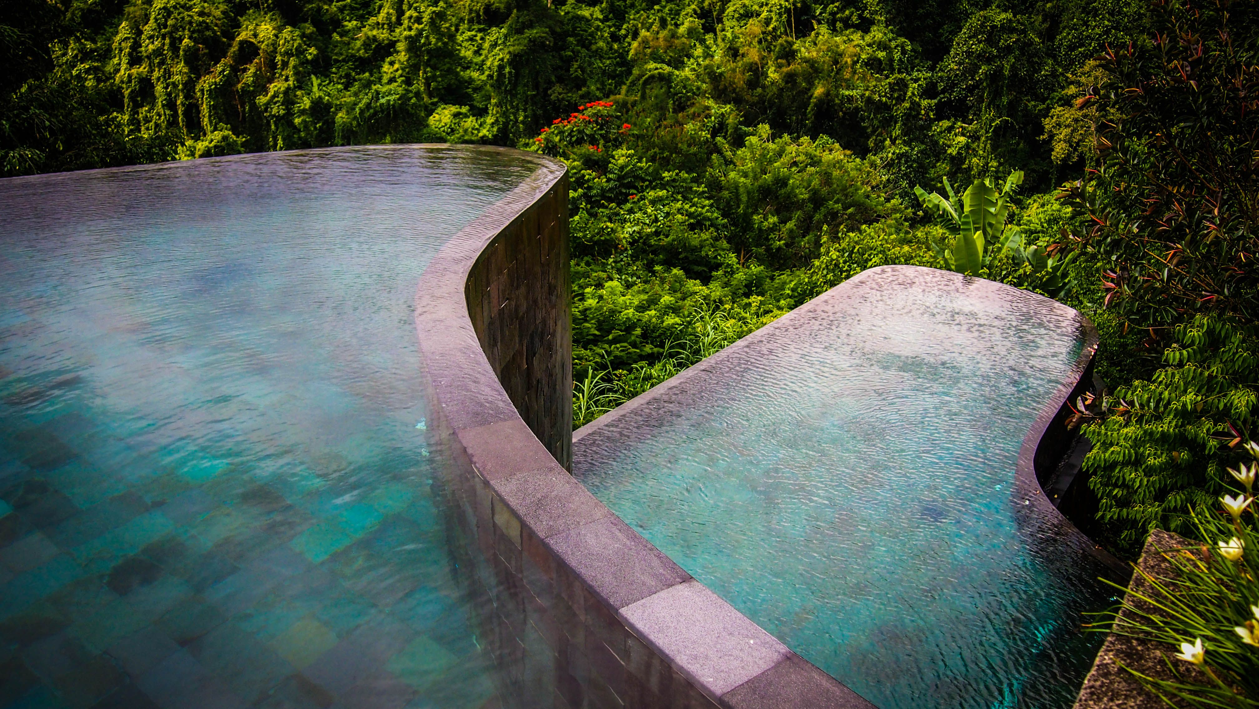 Best of ubud hanging gardens bali with swimming pool in for Pool design bali
