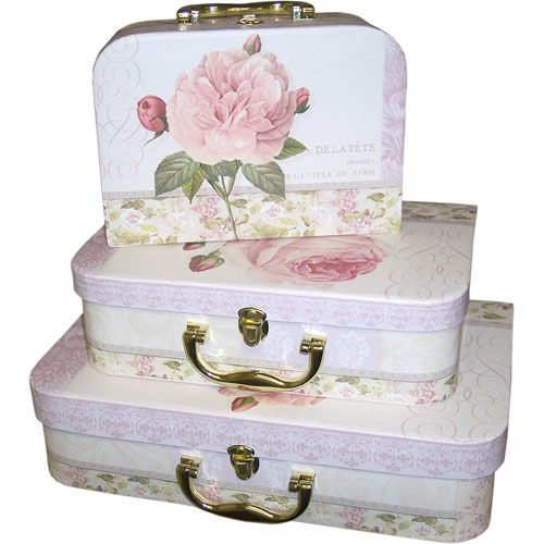 Spring Morning Suitcase Storage Box Image | Home Accents | Pinterest | Suitcase  Storage, Storage Boxes And Suitcase
