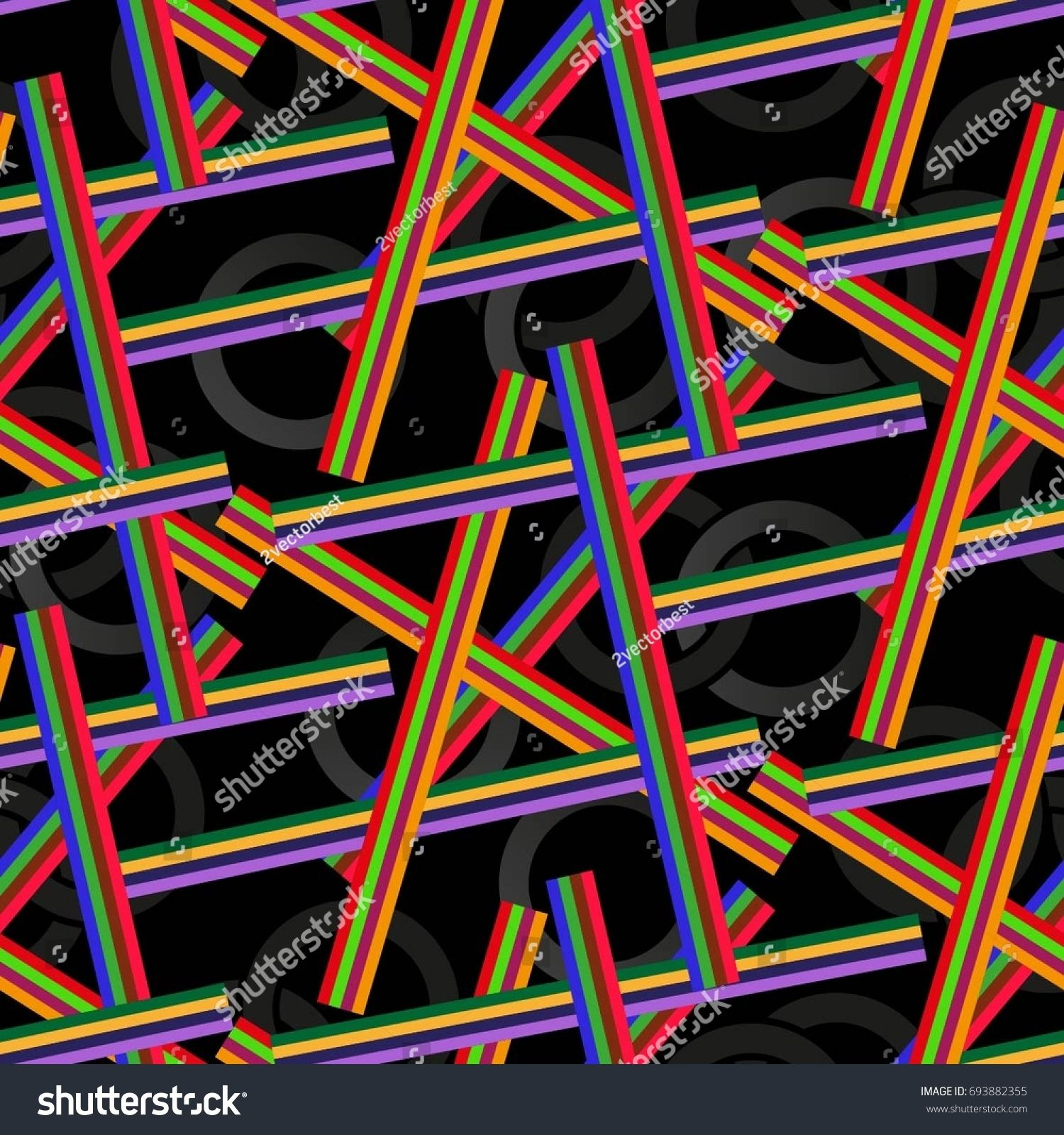 Endless Abstract Pattern Background Texture Vector Illustration