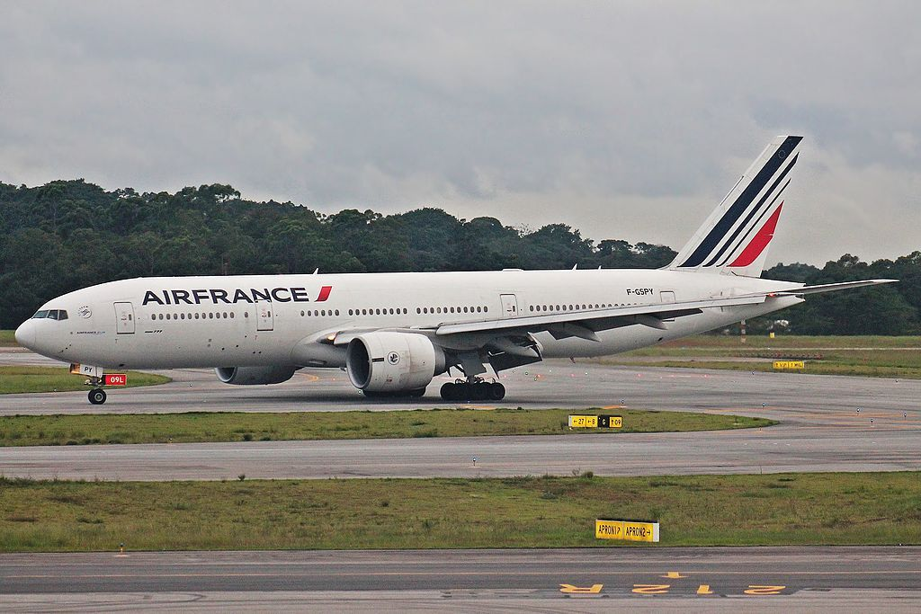 Air France Fleet Boeing 777 200er Details And Pictures Air
