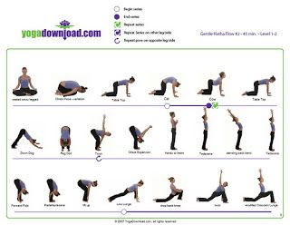 Yoga Cartoon | Here are some of the moves we made: | Clip ...