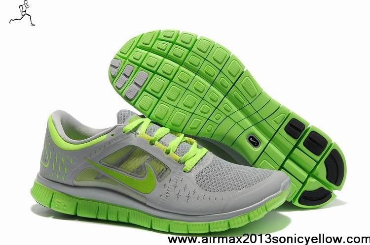 Sale Discount Nike Free Run 3 510642-019 Mens Cool Grey Reflect Silver Volt  Fashion