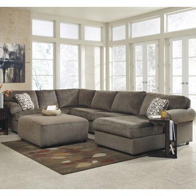 Charlton Home Brewster Sectional Reviews Wayfair