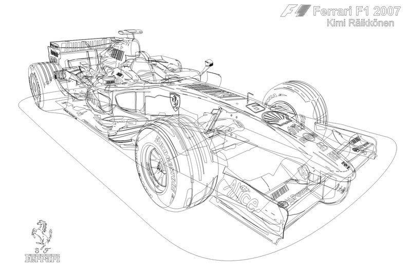 Ferrari F1 Line Drawing By Prehestoric On Deviantart Line Drawing Ferrari F1 Ferrari