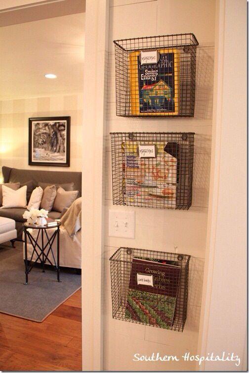 basket idea for kitchen home ideas southern living homes home rh pinterest com