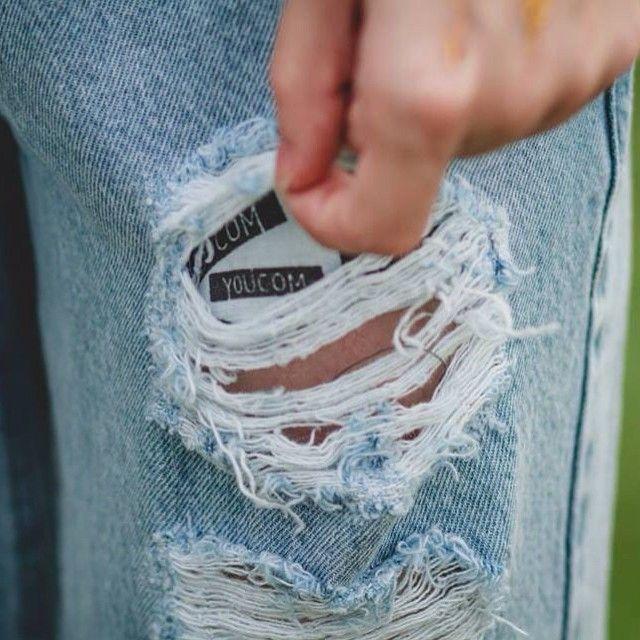 Maravilhosamente destruído ❤ #youcom #youcomjeans #denim #jeanswear