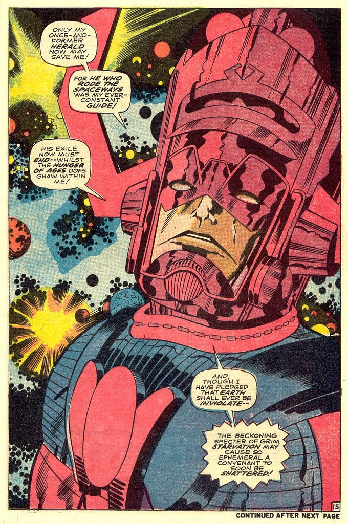 The awesome Galactus by Jack Kirby