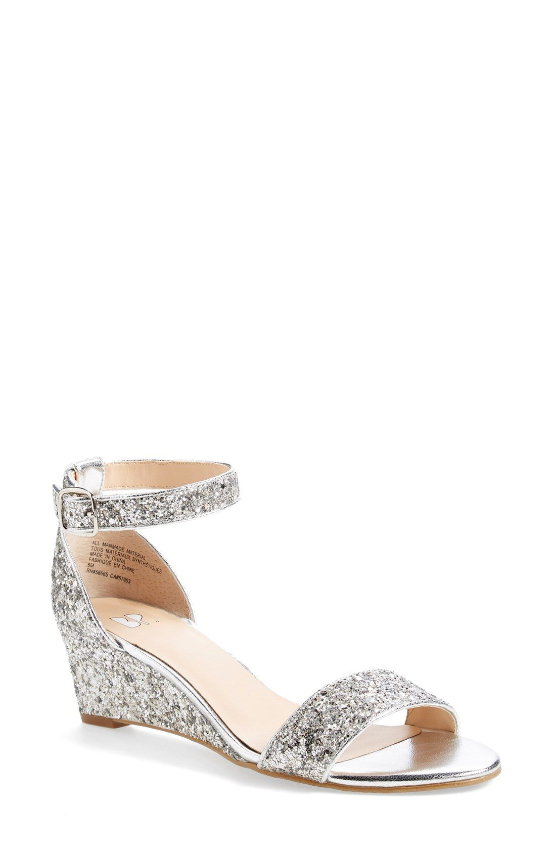 bd32891a132 These sparkly sandals are sure to add a little razzle-dazzle to any ...