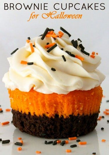 19 Ideas for Halloween Cupcakes That Make the Sweet Treats Deliciously Spooky #halloweenpotluckideas