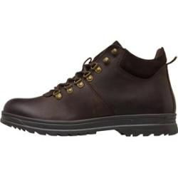 Photo of Onfire Men's Waxy Leather D-Ring Boots Dark Brown Onfire