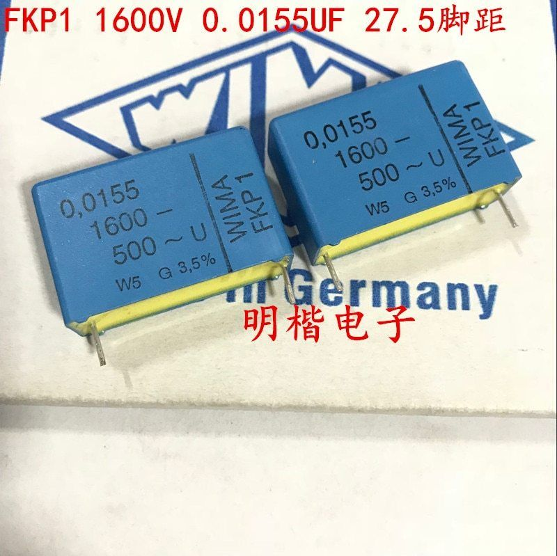2019 Hot Sale 10pcs 20pcs Germany Wima Capacitor Fkp1 1600v 0 0155uf 1550pf P 27 5mm Audio Capacitor Free Shipping 2019 Sale 1 Capacitors Germany Hot Sale
