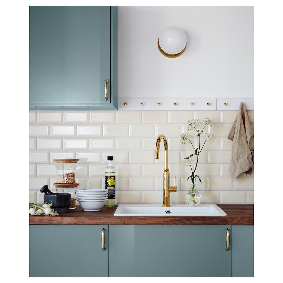 Karlby Countertop Walnut Veneer 98x1 1 2 249x3 8 Cm In 2020 Ikea Kitchen Ikea Kitchen Cabinets Karlby Countertop