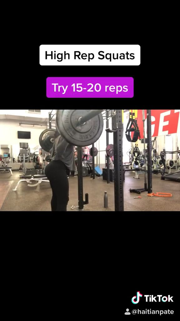 High Rep Squats Switch up your routine and incorporate this in your next workout