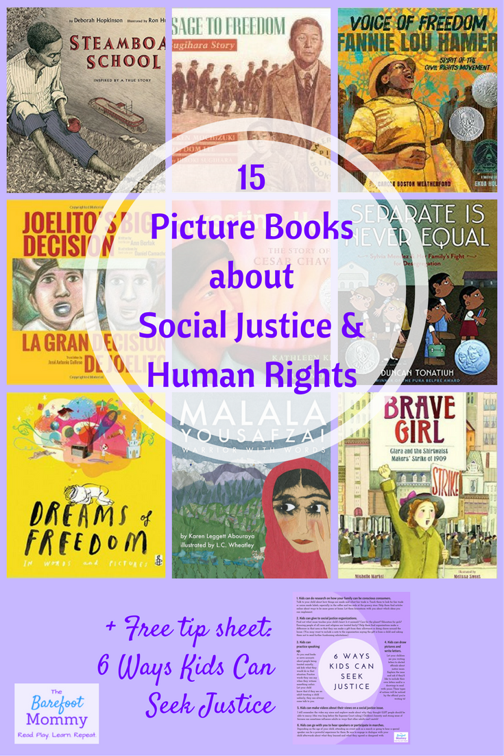 15 Picture Books About Social Justice And Human Rights Rebekah Gienapp Books Classroom Books Multicultural Books