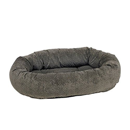 Bones Donut Diamond-Microfiber Dog Bed *** Remarkable product available now. : dog beds