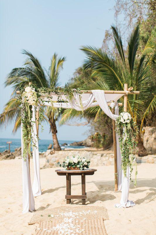 Las Caletas Puerto Vallarta Beach Mexico Wedding Mexican Beach Wedding Romantic Beach Wedding Puerto Vallarta Wedding