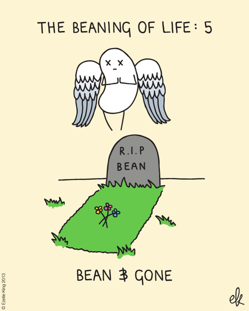 bean and gone from rhymes with spaghetti by ezetie king - Halloween Pubs