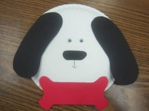 paper plate puppy craft | Dog craft | Pinterest | Puppy crafts and Craft