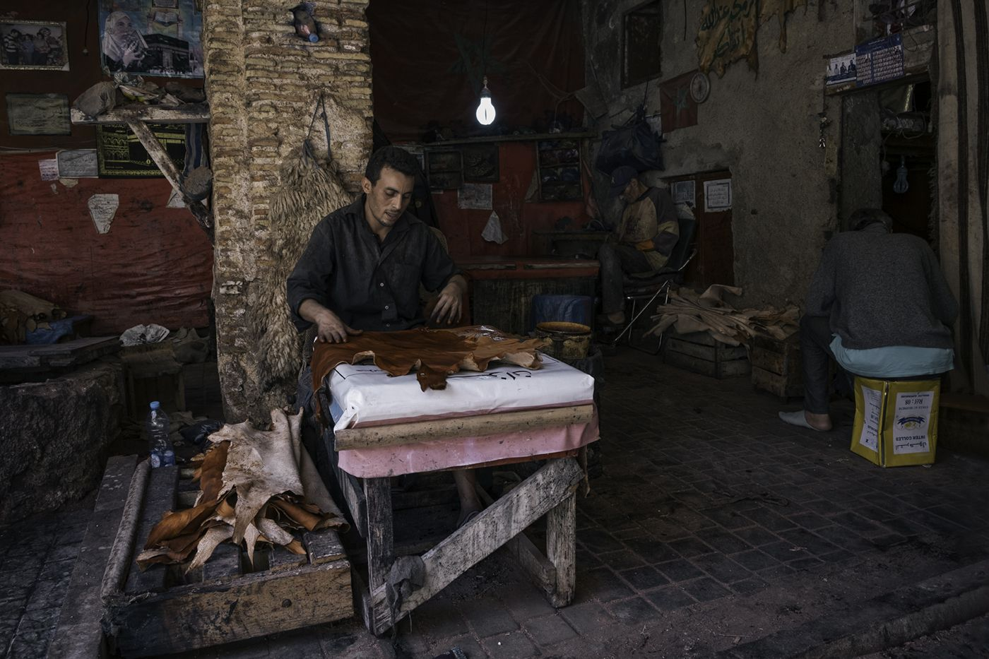 Lederhersteller Gerber Marokko Morocco Marokko Reisen Travel