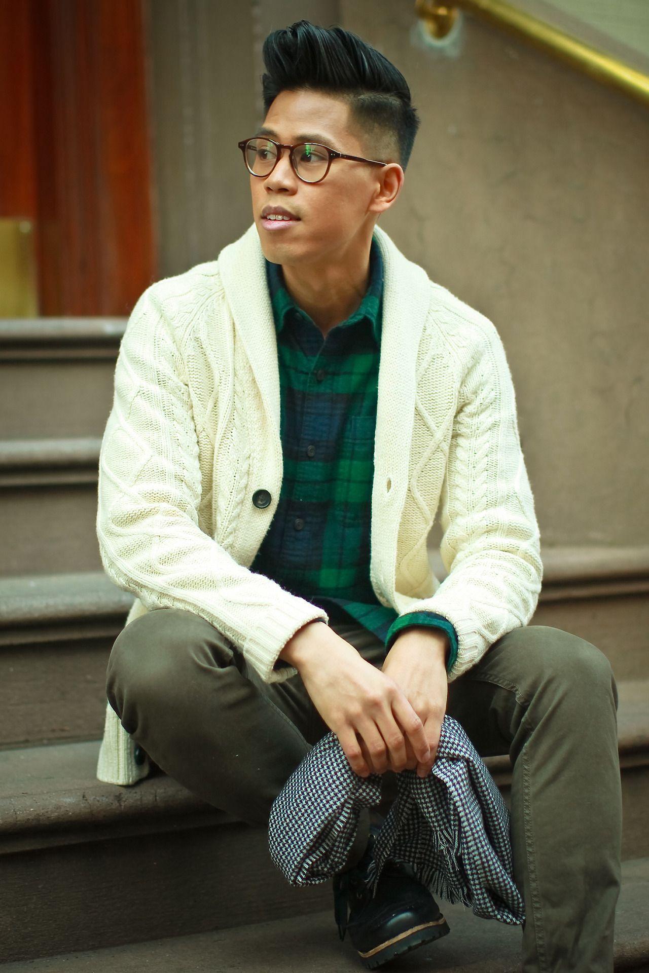 OUTFIT: Men'sChunky Cardigan Feeling Festive ... | Closet Freaks | Menswear & Personal Style