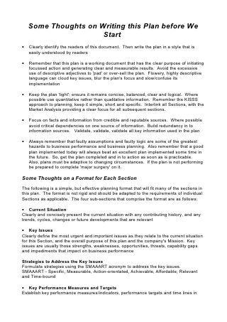5 comprehensive strategic business plan template restaurant comprehensive strategic business plan template flashek Choice Image