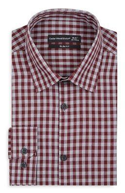 Camisa a cuadros rojos