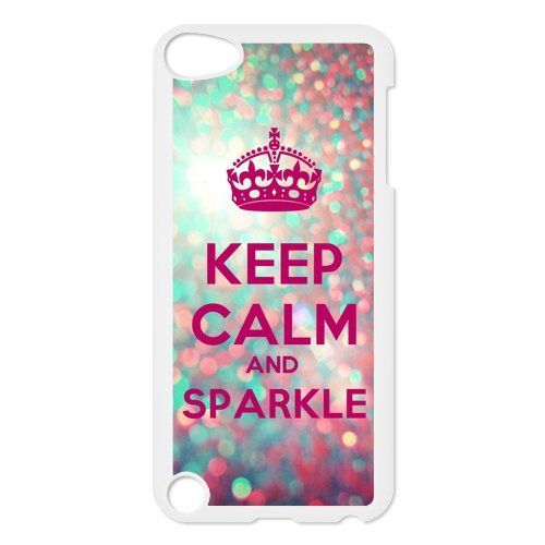 Full Diamond Case Cover Heart Pink Black 384 iPod Touch 5th 6th Generation