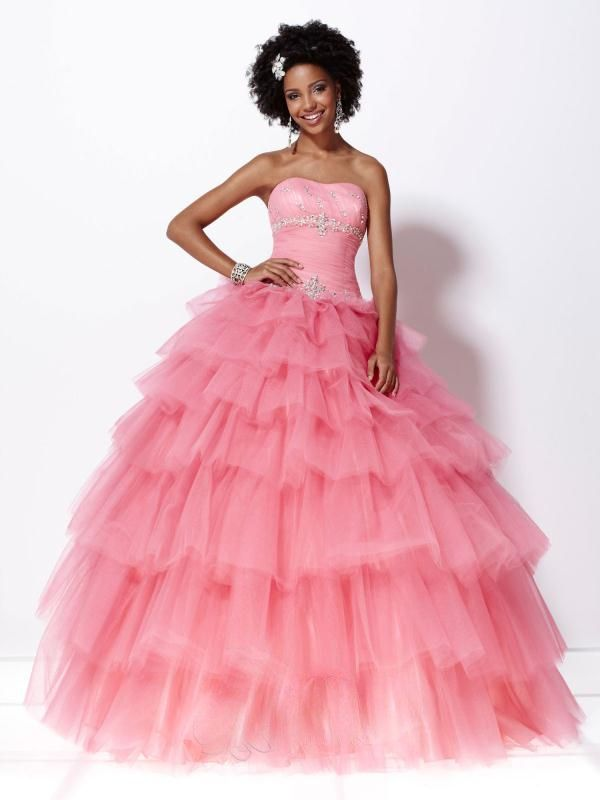 Pink Cinderella Prom Dress | On The Fancy Side Of Dresses ...