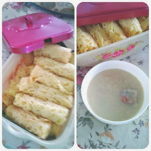 Resepi Roti Jala dengan Kuah Durian Roti jala kuah durian Bukanlah asing lagi kalau kuah durian